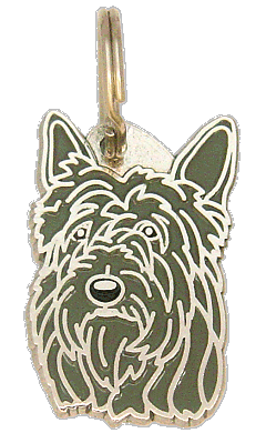 BERGER PICARD GREY - pet ID tag, dog ID tags, pet tags, personalized pet tags MjavHov - engraved pet tags online